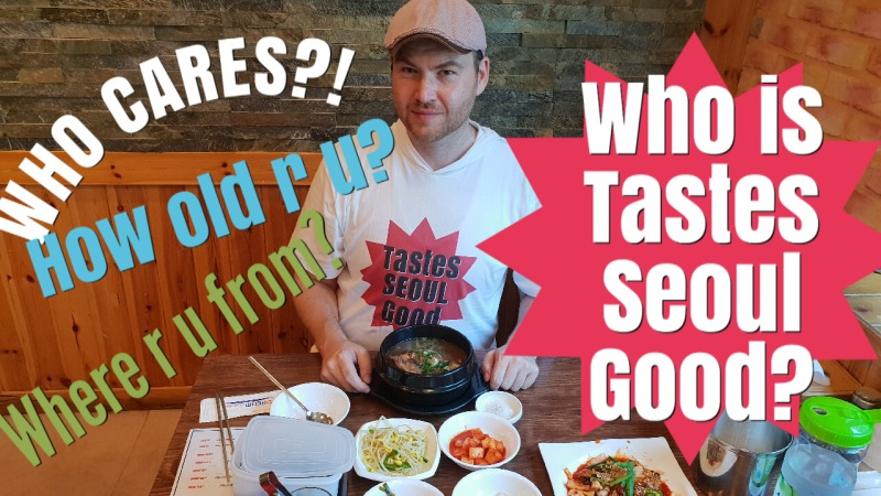 "Who is ""Tastes Seoul Good""?"
