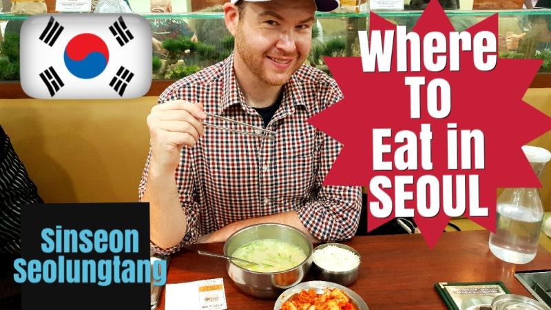 Myeongdong's best restaurant(Seoul)