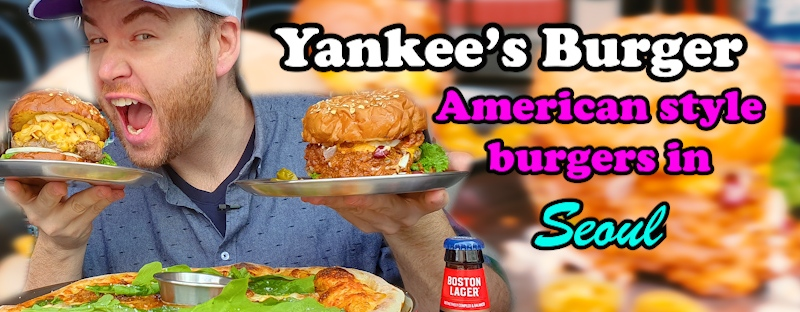 Yankee's Burger in Apgujeong is serving up American style burgers in Seoul
