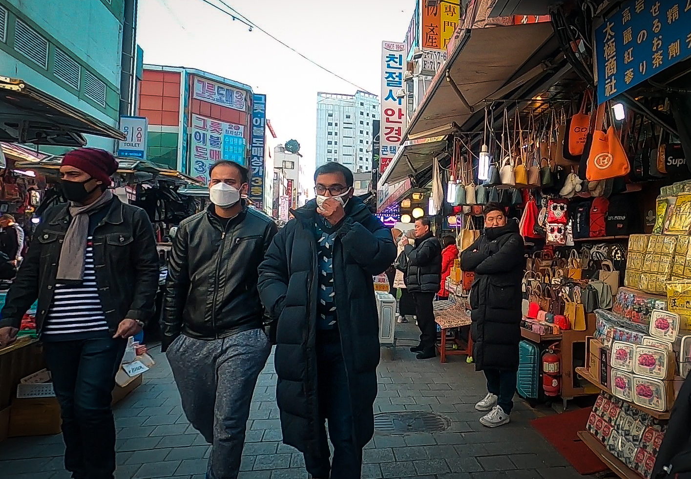Tourists to South Korea are sure to stay wear masks in public. While tourism might not have taken a large hit yet, many expect airlines to cut flights to South Korea in the near future.