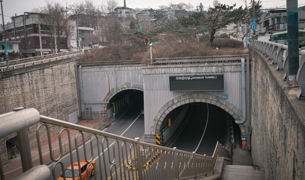 Jahamun Tunnel - Parasite Filming Location