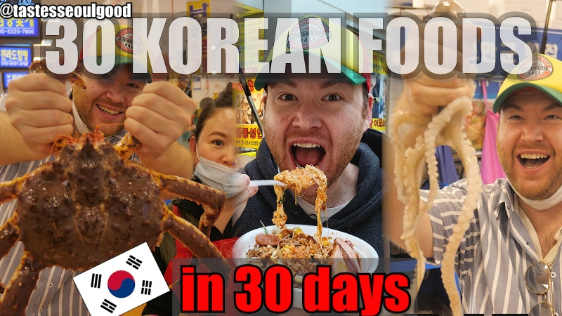 30 Korean Foods to Try In 30 Days
